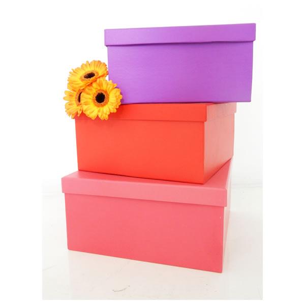 cajas de cartón para arreglos florales